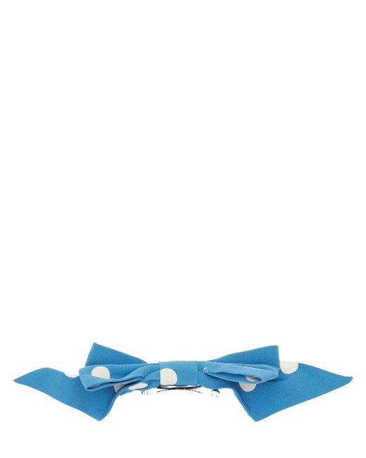 Marc Jacobs ポルカドットヘアリボン Blue
