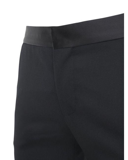 Balmain Hose Aus Wolle Im Collection Fit in Black für Herren
