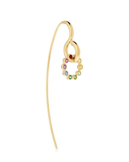Charlotte Chesnais - Metallic Sapphire, Topaz & Gold Swing Earring - Lyst