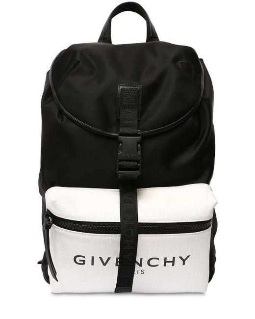 Givenchy Nylonrucksack Mit Glow-in-the-dark in Black für Herren