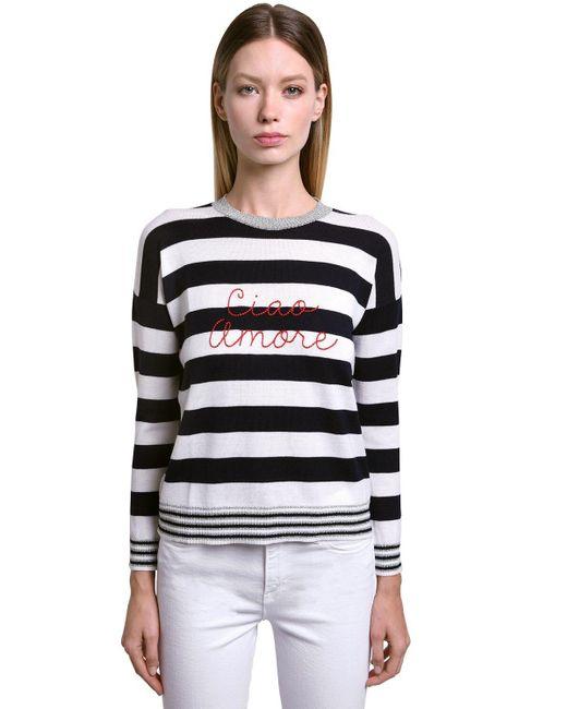 Giada Benincasa Ciao Amore ウールブレンドセーター Multicolor