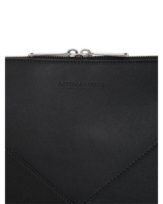 Сумка Для Документов Maxi Intreccio Bottega Veneta для него, цвет: Black