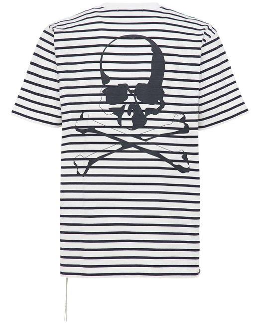 メンズ MASTERMIND WORLD コットンtシャツ White