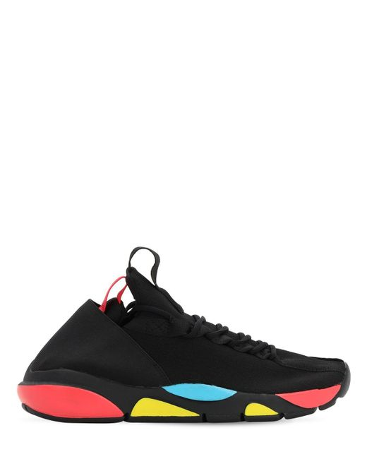 Clear Weather Black Interceptor Sneakers for men