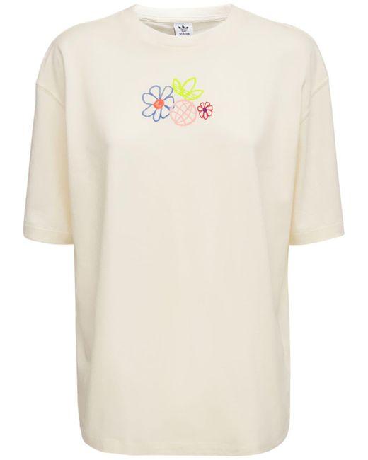 Adidas Originals ロゴtシャツ White