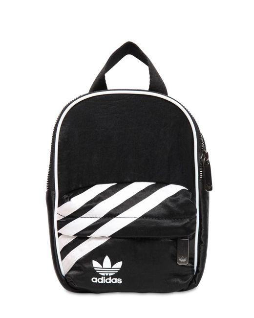Adidas Originals ナイロンミニバックパック Black