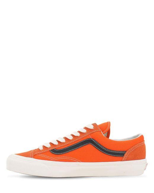 """Sneakers """"ua Og Style 36 Lx"""" Vans pour homme en coloris Orange"""