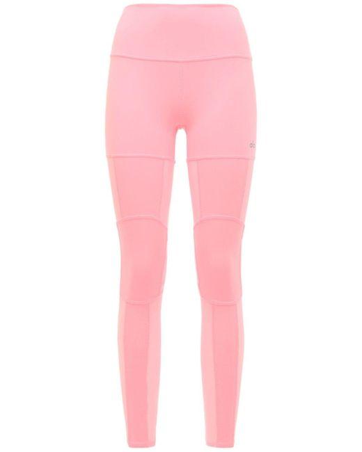 Alo Yoga Impact ハイウエストレギンス Pink