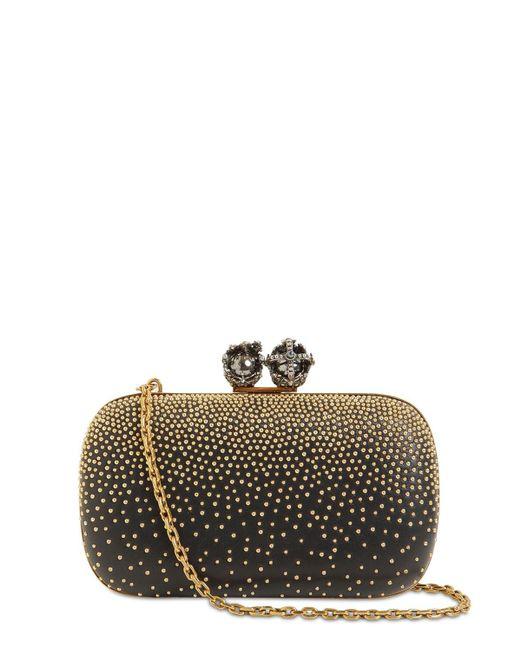 Клатч King & Queen С Заклепками Alexander McQueen, цвет: Black