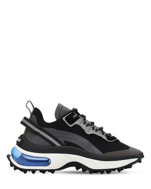 Кроссовки Из Пвх И Нейлона DSquared² для него, цвет: Black