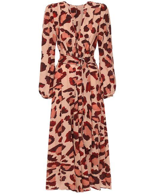 Maria Lucia Hohan Rury クレープドレス Multicolor