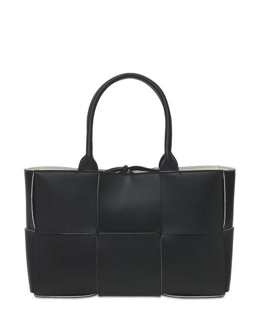 Сумка-тоут Из Кожи Наппа Intreccio Bottega Veneta, цвет: Black