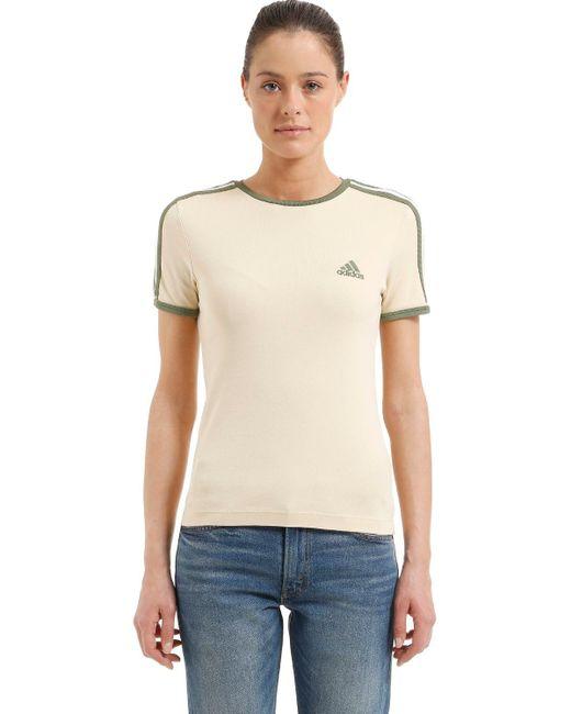 Yeezy Baby Fit コットンジャージーtシャツ Natural