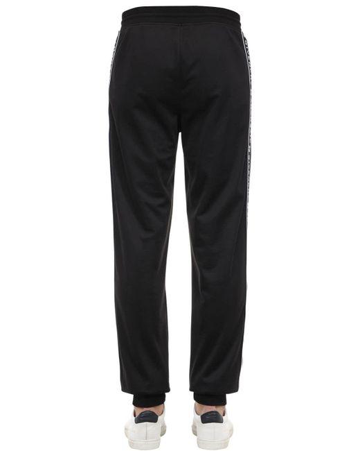 メンズ Givenchy ジャージー トラックスーツパンツ Black