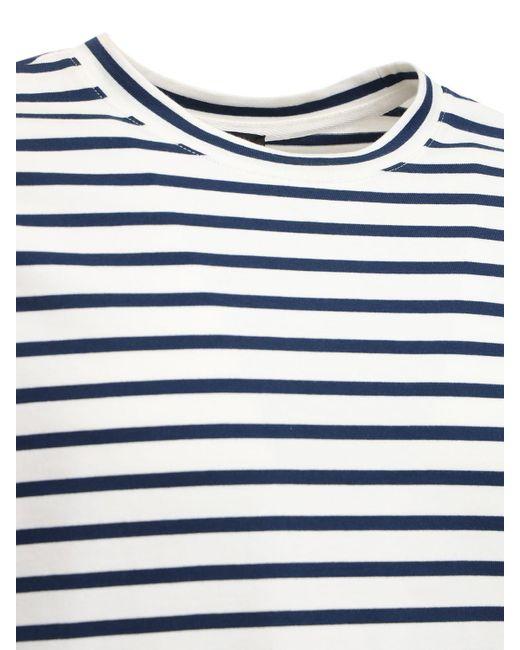 メンズ A.P.C. コットンtシャツ Blue