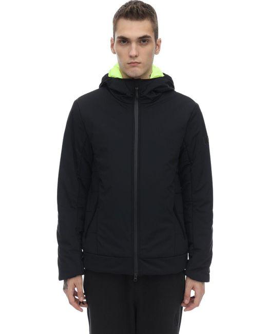 Куртка С Капюшоном EA7 для него, цвет: Black