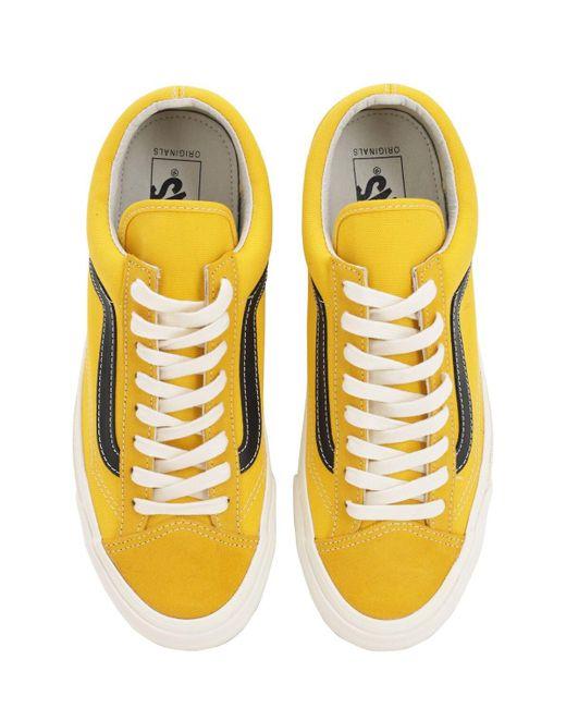 メンズ Vans Ua Og Style 36 Lx スニーカー Yellow