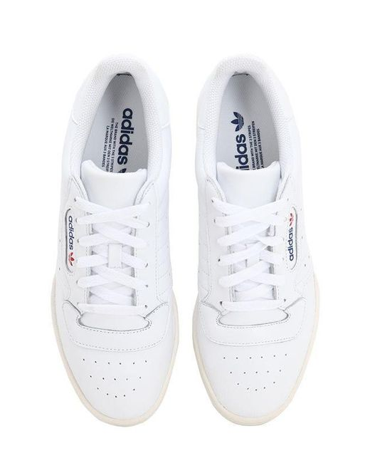 ee50f71220ff2 ... Adidas Originals - White Powerphase Premium Leather Sneakers for Men -  Lyst ...