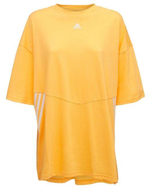 Adidas Originals オーバーサイズtシャツ Orange
