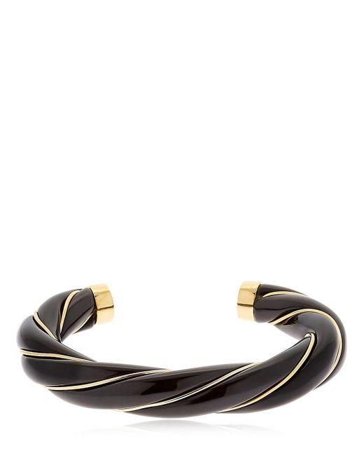 Aurelie Bidermann | Black Diana Twisted Bracelet | Lyst