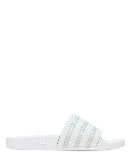 Adidas Originals Adilette スライドサンダル White