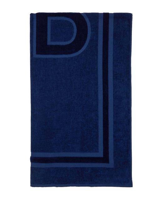 Пляжное Полотенце Из Хлопка Balenciaga для него, цвет: Blue
