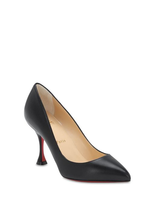 Christian Louboutin O Pigalle レザーパンプス 85mm Black