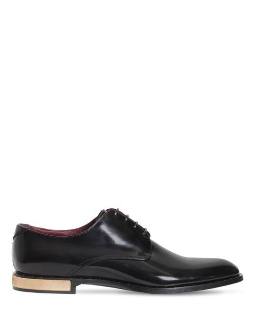 Кожаные Ботинки Dolce & Gabbana для него, цвет: Black
