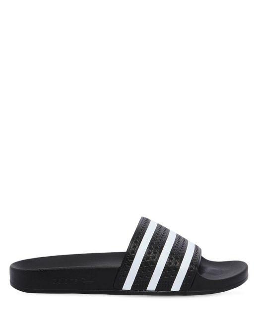 Adidas Originals Adilette スライドサンダル Black