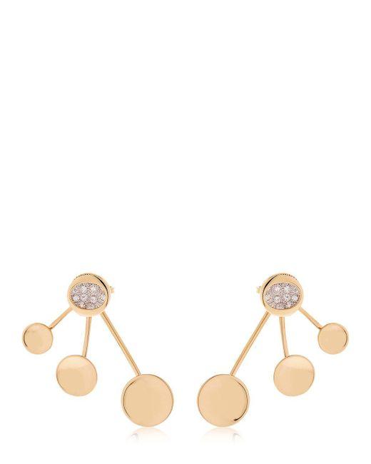 Antonini - Metallic Atolli 3 Elements Earrings - Lyst