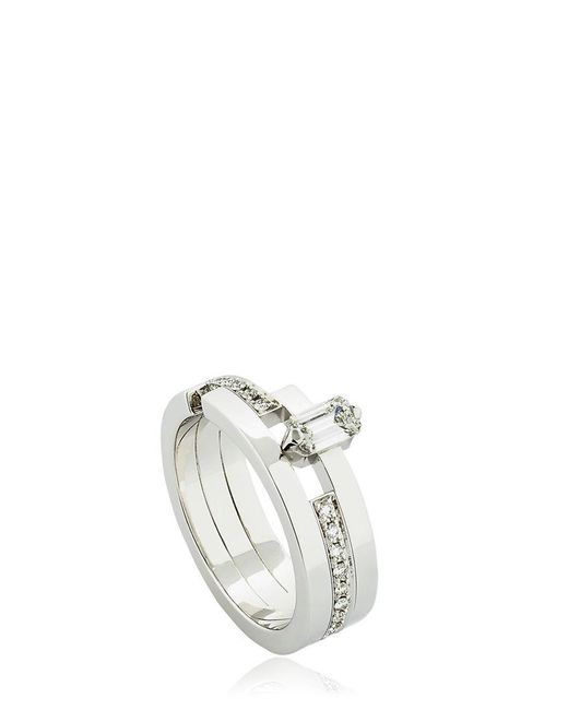 Dauphin | Metallic Disruptive Geometric Ring for Men | Lyst