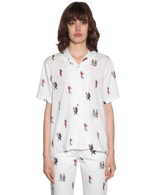 Kirin Camiseta De Sarga De Viscosa de mujer AOSMi