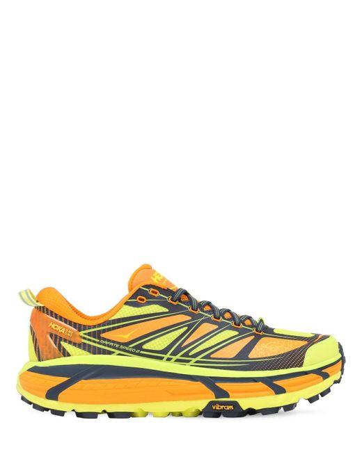 メンズ Hoka One One Mafate 2 Trail Running スニーカー Multicolor