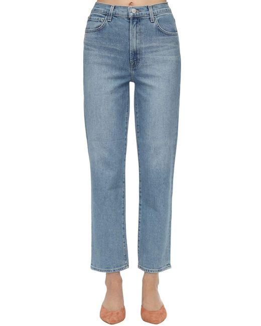 "J Brand Blue Jeans Aus Stretch-denim ""jules"""