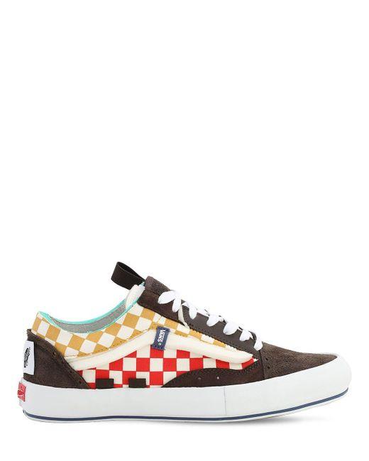 メンズ Vans Ua Old Skool Cap Lx スニーカー Multicolor