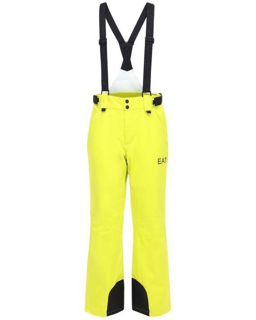 メンズ EA7 Performance スキーパンツ Yellow