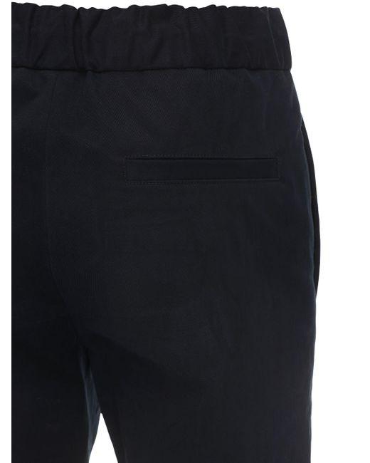 メンズ A.P.C. Pantalon Kaplan コットンパンツ Blue