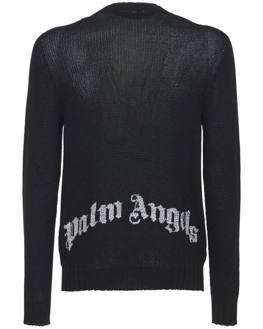 メンズ Palm Angels Hue Gothic ジャージー スウェットパンツ Black