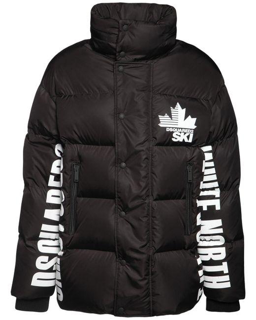 メンズ DSquared² パファースキージャケット Black