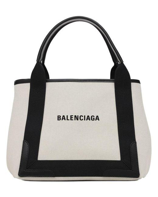 Balenciaga Navy キャンバスバッグ Black