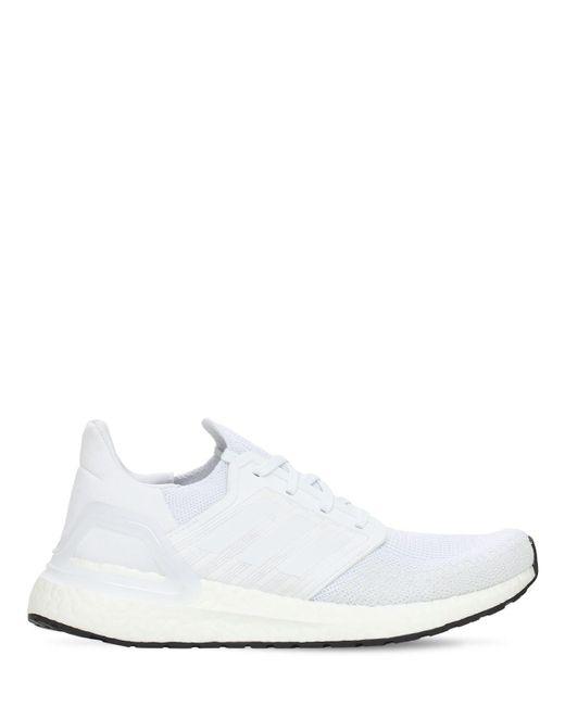 Кроссовки Ultra Boost Running Adidas Originals, цвет: White
