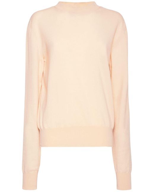 Bottega Veneta カシミアニットセーター Pink