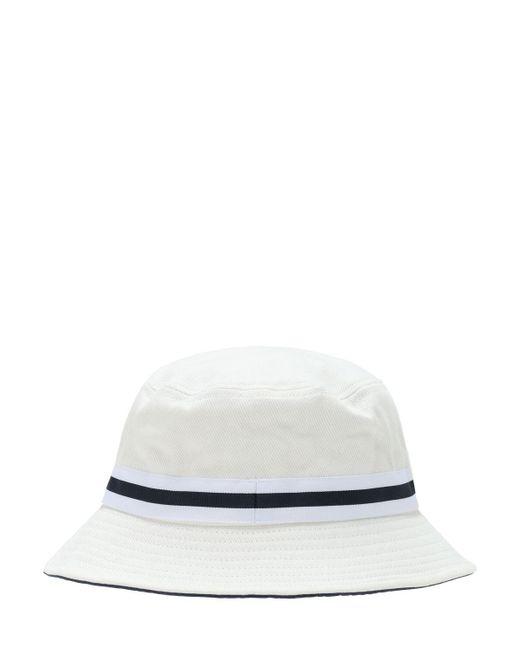 メンズ Kangol Lahinch コットンバケットハット White