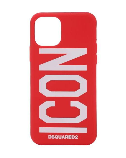 Чехол Для Iphone 11 Pro DSquared² для него, цвет: Red