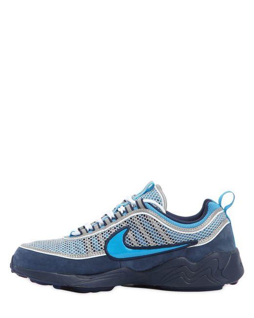 7e561ca5de46 ... Lyst Nike - Blue Stash X Air Zoom Spiridon 16  Sneakers for Men ...