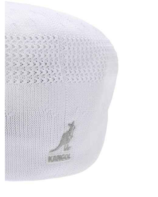 メンズ Kangol Tropic 504 Ventair Flat ハット White