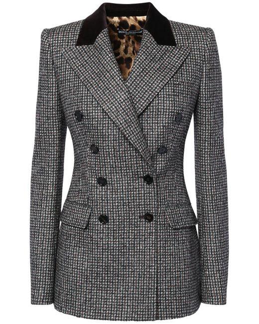 Dolce & Gabbana ダブルブレステッドジャケット Gray