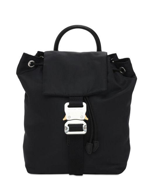 Нейлоновый Рюкзак 1017 ALYX 9SM для него, цвет: Black