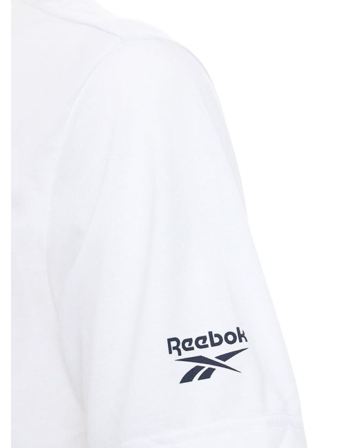 メンズ Reebok Cl (ree)cycle T シャツ White