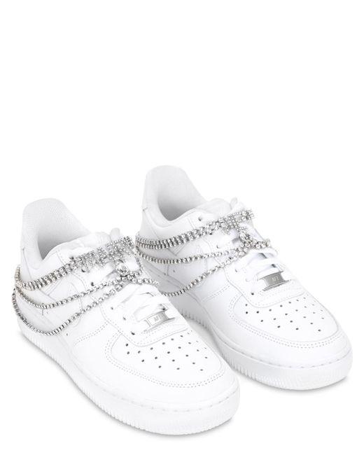 Nike Air Force 1 '07 レザースニーカー White